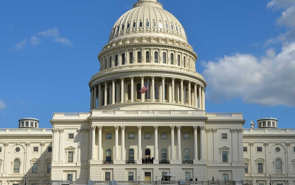 United States capital building.